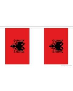 Albanien Guirlander 9m (30 flag)