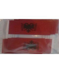 Albanien Kageflag (30x48mm)