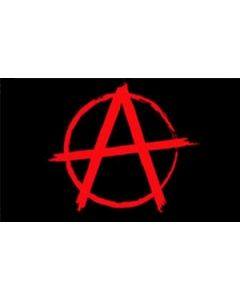 Anarchy Red Flag (60x90cm)