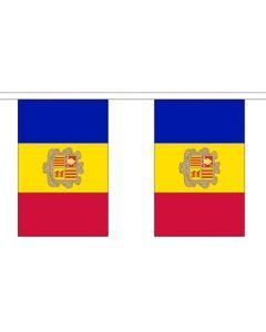 Andorra Guirlander 3m (10 flag)