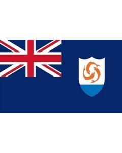 Anguilla Satin Flag (15x22cm)