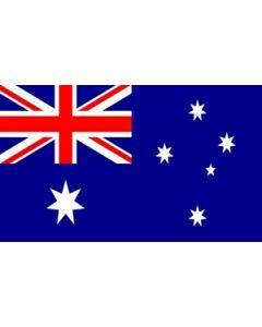 Australien Satin Flag (15x22cm)