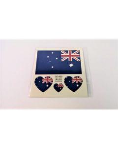 Australien Tattoo (6x6cm)