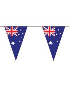 Australien Triangle Guirlander 5m (12 flag)