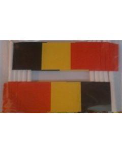 Belgien Kageflag (30x48mm)