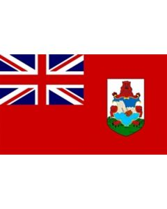 Bermuda Satin Flag (15x22cm)