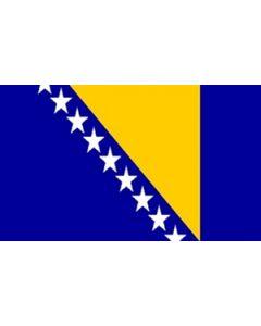 Bosnien-Hercegovina Premium Flag (120x180cm)