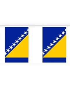 Bosnien-Hercegovina Guirlander 3m (10 flag)