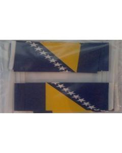 Bosnien-Hercegovina Kageflag (30x48mm)