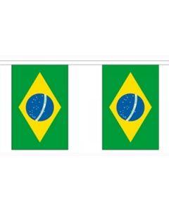 Brasilien Guirlander 9m (30 flag)