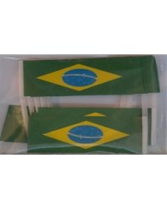 Brasilien Kageflag (30x48mm)
