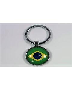 Brasilien Nøglering (25x60mm)