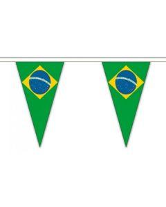 Brasilien Triangle Guirlander 5m (12 flag)