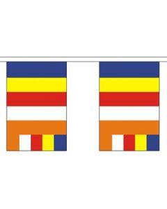 Buddhism Guirlander 9m (30 flag)