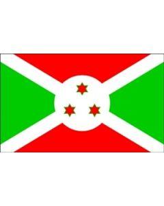 Burundi Satin Flag (15x22cm)
