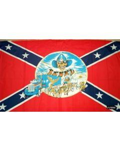 Rebel Buggy Flag (90x150cm)