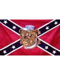 Rebel Bulldog Flag (90x150cm)