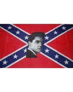 Rebel Elvis Flag (90x150cm)