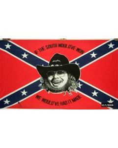 Rebel Hank Williams Flag (90x150cm)