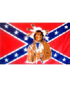 Rebel Indian Flag (90x150cm)