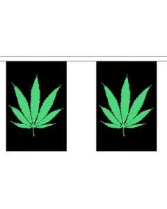 Cannabis Guirlander 3m (10 flag)