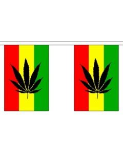 Cannabis Reggae Guirlander 9m (30 flag)