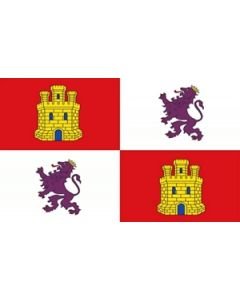 Castile and Leon Flag (90x150cm)