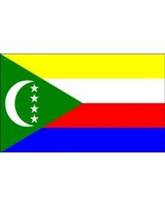 Comorerne Satin Flag (15x22cm)