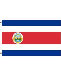 Costa Rica Flag (90x150cm)