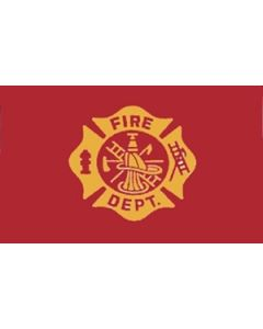 Fire Department Flag (90x150cm)