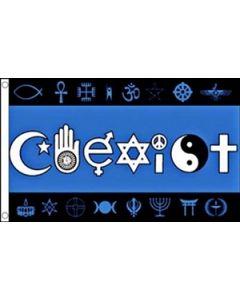 Coexist Flag (90x150cm)