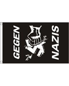 Gegen Nazis Flag (90x150cm)