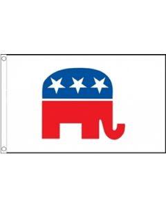 Republican Party USA Flag (90x150cm)