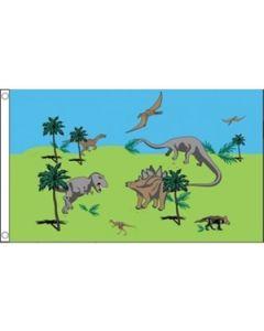 Dinosaurs Flag (90x150cm)