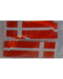 Dannebrog Kageflag (100 stk.) (30x48mm)