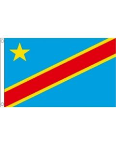 Demokratiske Republik Congo Flag (60x90cm)