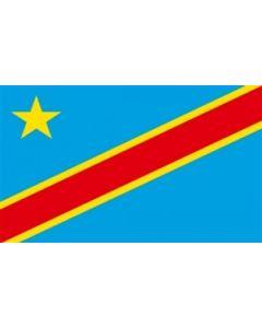 Demokratiske Republik Congo Satin Flag (15x22cm)