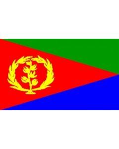 Eritrea Satin Flag (15x22cm)
