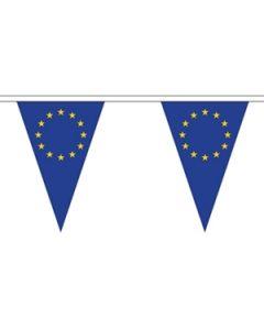 Europæiske Union Triangle Guirlander 20m (54 flag)