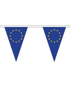 Europæiske Union Triangle Guirlander 5m (12 flag)