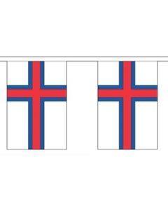 Færøerne Guirlander 9m (30 flag)