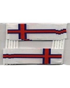 Færøerne Kageflag (30x48mm)