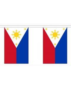 Filippinerne Guirlander 9m (30 flag)