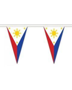 Filippinerne Triangle Guirlander 20m (54 flag)
