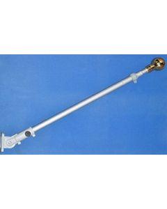 Flagstang Aluminium til Vægmontering (240cm)