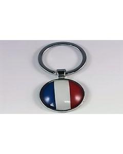 Frankrig Nøglering (25x60mm)