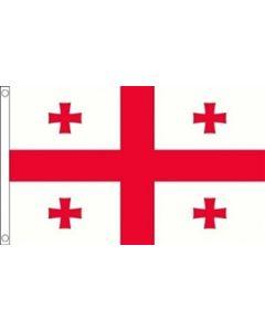 Georgien Satin Flag (15x22cm)