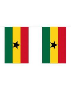 Ghana Guirlander 3m (10 flag)