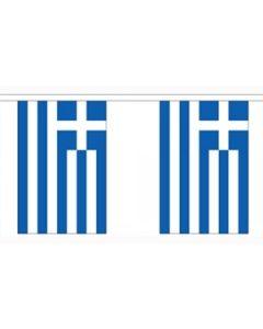 Grækenland Guirlander 3m (10 flag)