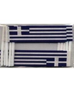 Grækenland Kageflag (30x48mm)